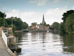 Abingdon now, copyright Graham Diprose & Jeff Robins