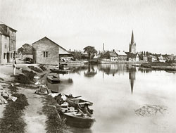 Abingdon c1880-1900, photograph by Henry Taunt, reproduced by permission of River & Rowing Museum 2004.57.14